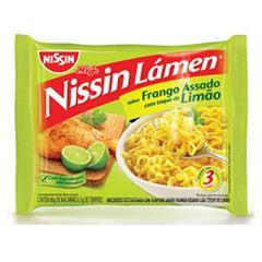 Nissin Lamen Frango Assado com Toque de Limão 85g