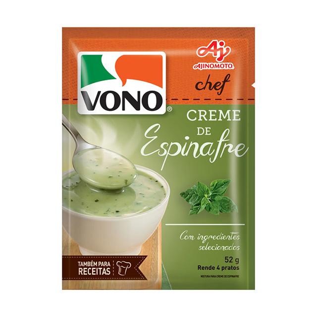 Sopa Vono Chef Creme de Espinafre 52g