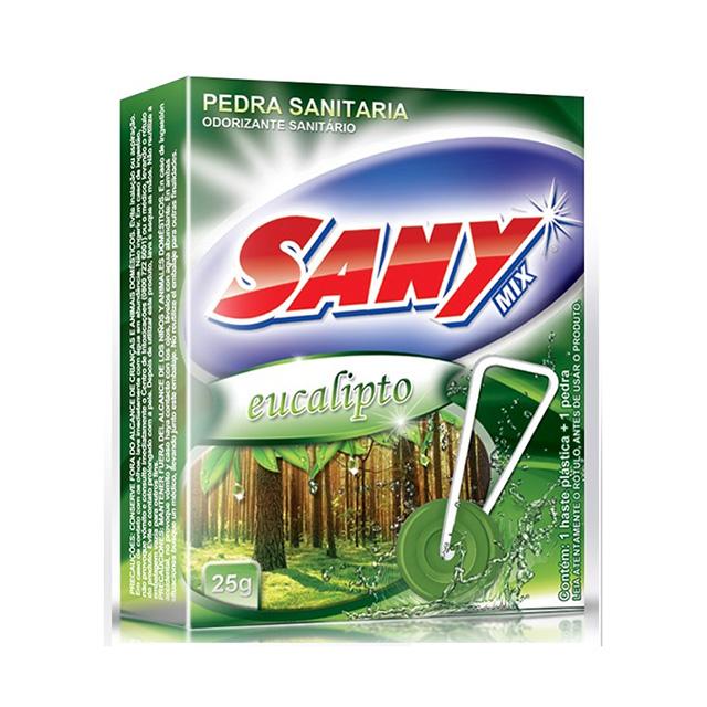Pedra Sanitária Sany Mix Eucalipto 25g