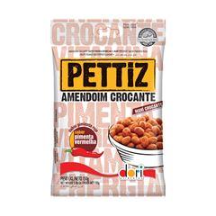 Amendoim Salgado Pettiz Pimenta Vermelha Crocante 150g