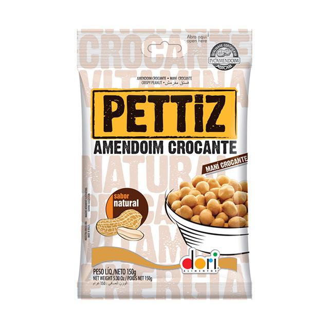 Amendoim Salgado Pettiz Natural Crocante 150g