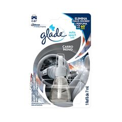 Glade Auto Sport Carro Novo Refil 7ml