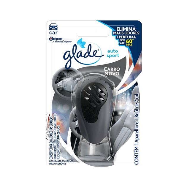 Glade Auto Sport Carro Novo Aparelho 7ml