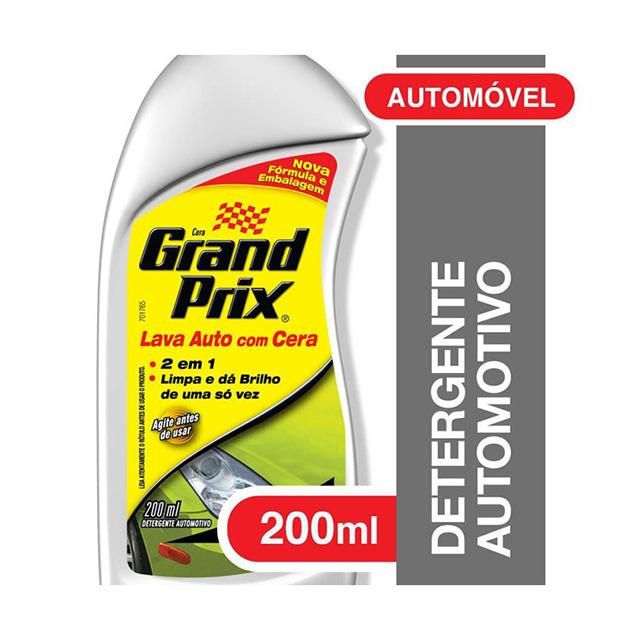 Grand Prix Lava Auto com Cera 200ml