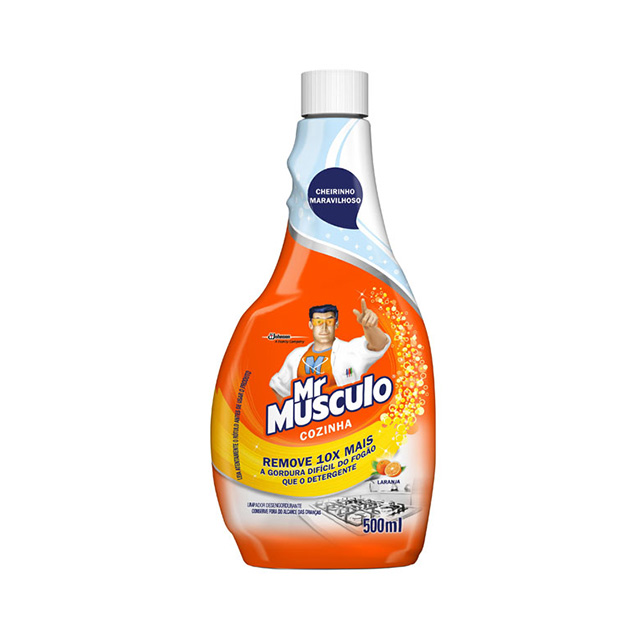 Mr Músculo Limpador Cozinha Refil 500ml