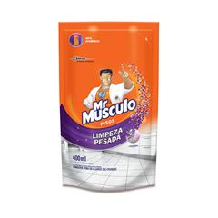 Mr Músculo Limpeza Pesada Lavanda Refil 400ml