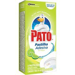 Pato Pastilha Adesiva Citrus Com 3