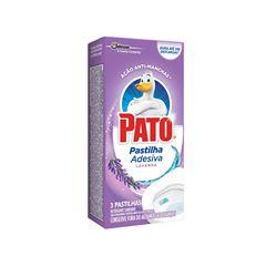 Pato Pastilha Adesiva Lavanda Com 3