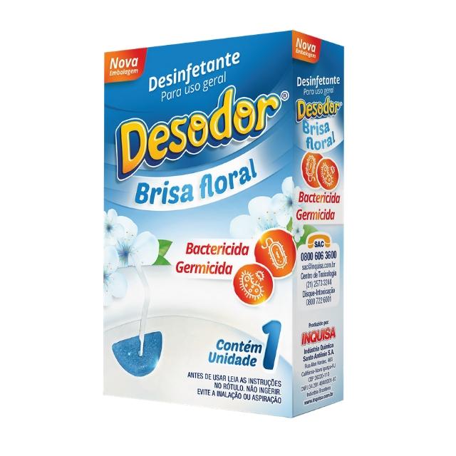 Pedra Sanitária Desinfetante Desodor Brisa Floral