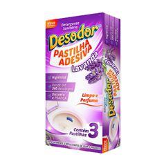 Desodor Pastilha Adesiva Lavanda