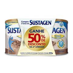 Sustagen adulto Chocolate 400g Leve 1 Pague 50% na 2ª Lata