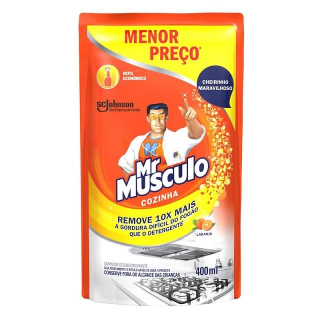 Mr Músculo Cozinha Refil Menor Preço 400ml