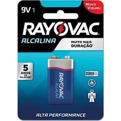 Bateria Alcalina 9V Rayovac com 1 und