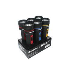 Kit Lanternas Rayovac Tri-led 5 Leds Bandeja com 6 und