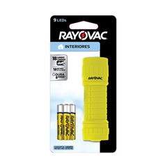 Lanterna Rayovac 9 Led Blister + 3 Pilhas AAA