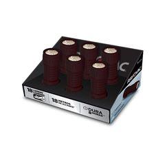 Kit Lanternas Rayovac 9 Led Bandeja com 6 + 3 Pilhas AAA