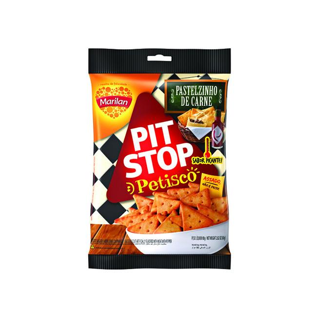Petisco Marilan Pit Stop Pastel Carne 80g