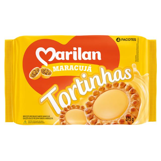 Biscoito Marilan Tortinha Maracuja 375g