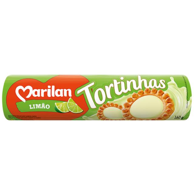 Biscoito Marilan Tortinha Limão 160g