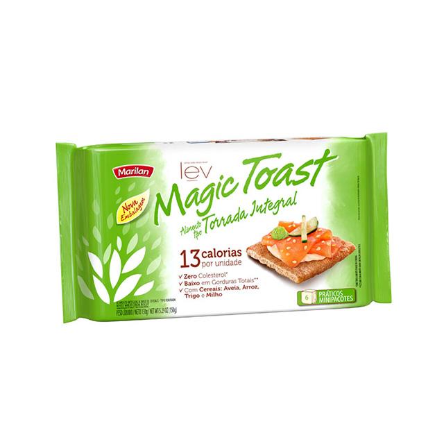 Torrada Marilan Magic Toast Integral 150g