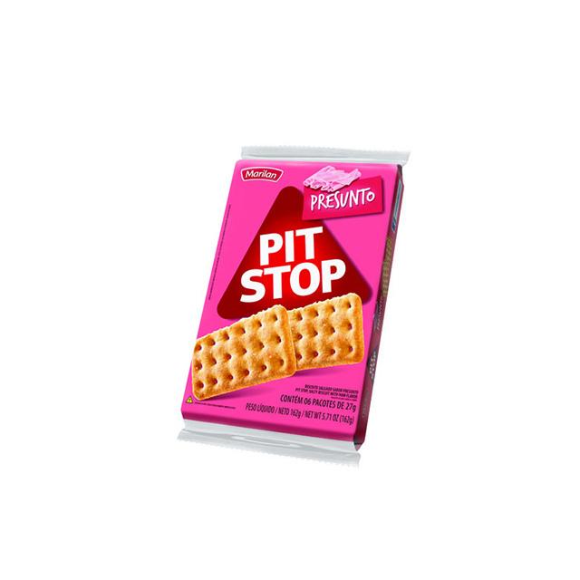 Biscoito Marilan Pit Stop Presunto 162g