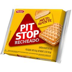 Biscoito Marilan Pit Stop Recheado Misto Quente 105,6g