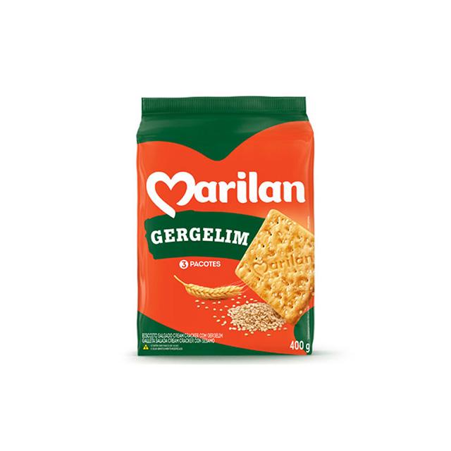 Biscoito Marilan Cracker Gergelim 400g