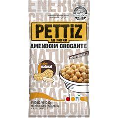 Amendoim Salgado Pettiz Natural Crocante 50g