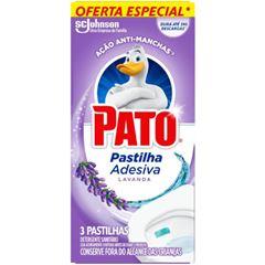 Pato Pastilha Adesiva Lavanda 20% de Desconto Com 3 und