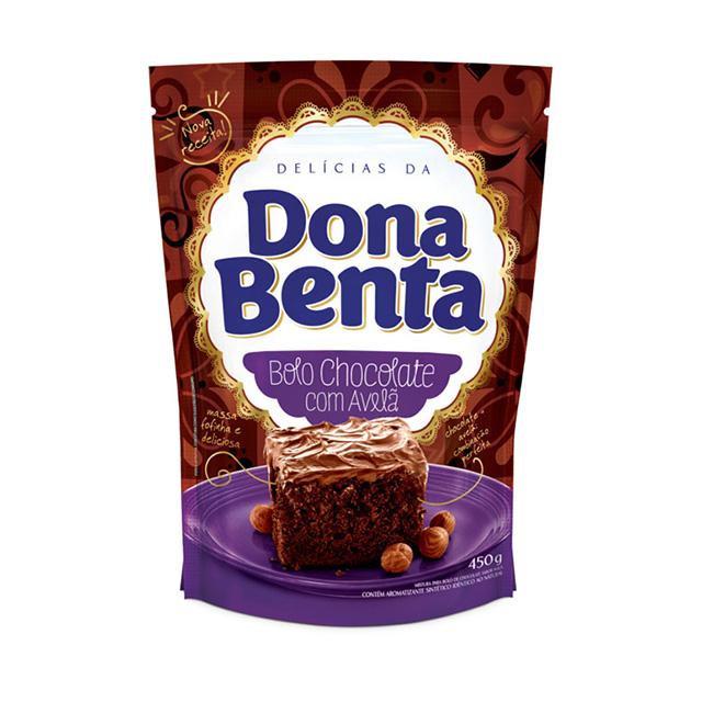 Mistura para Bolo Dona Benta Chocolate Com Avela 450g