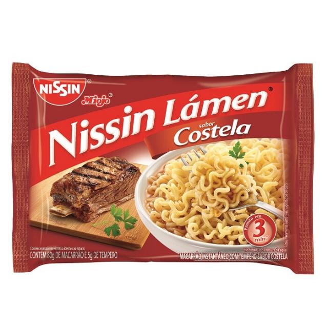 Nissin Lamen Costela 85g