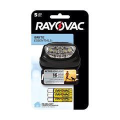 Lanterna Rayovac Mãos Livres 5 Led +3 Pilhas AAA
