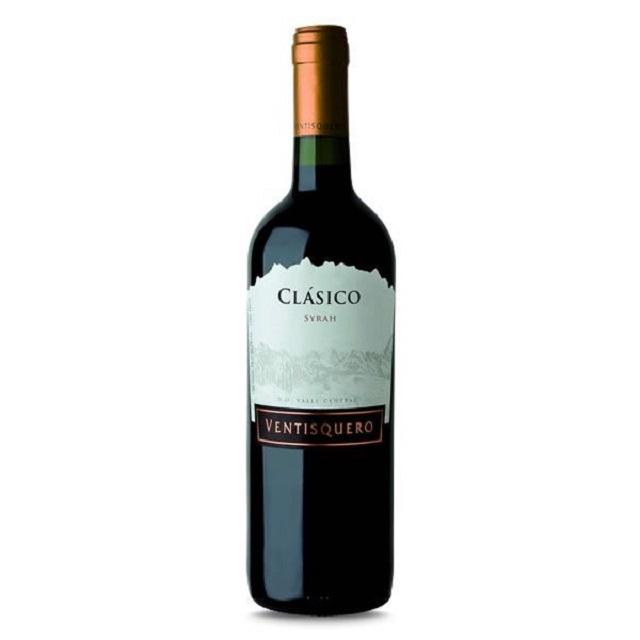 Vinho Chileno Ventisquero Classico Syrah Tinto 750ml