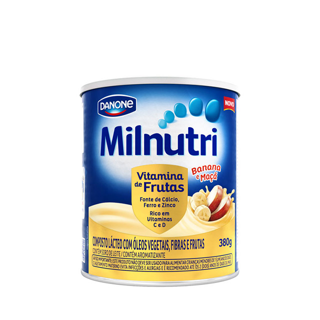 Milnutri Vitamina de Frutas 380g