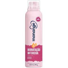 Desodorante Aerossol Monange Antitranspirante Hidratação Intensa 90g