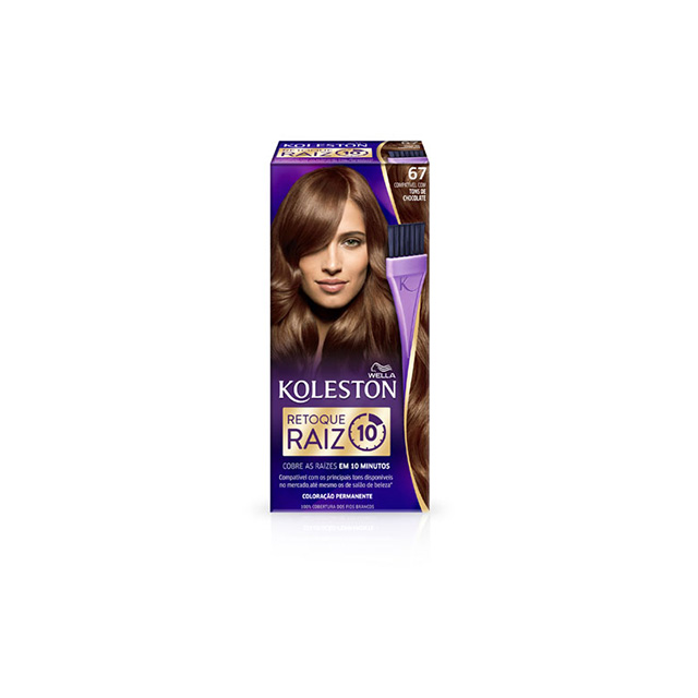Tintura/Coloração Koleston 67 Retoque Raiz Chocolate