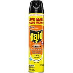 Inseticida Raid Multi-insetos Aerossol Citronela Leve Mais Pague Menos 420ml
