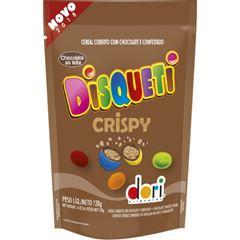 Disqueti Chocolate Crispy Confeitado 120g