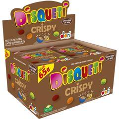 Disqueti Chocolate Crispy Confeitado 65g