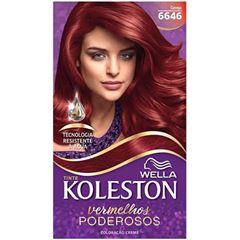 Tintura/Coloração Koleston 6646 Cereja