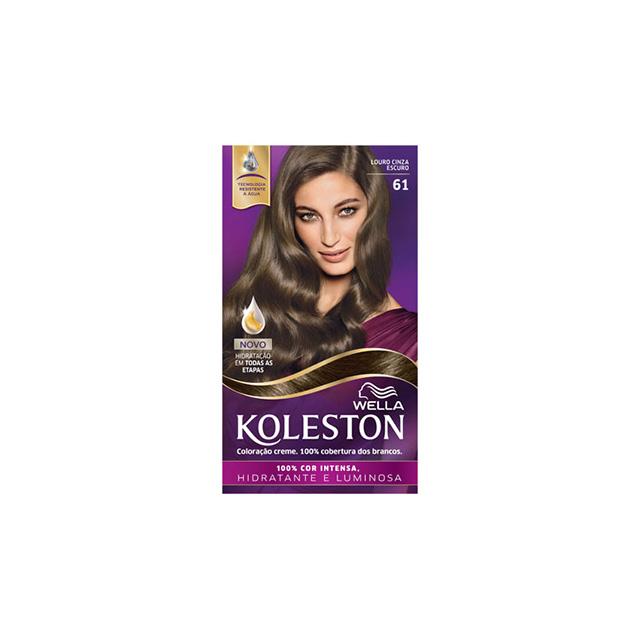 Tintura/Coloração Koleston 61 Louro Cinza Escuro
