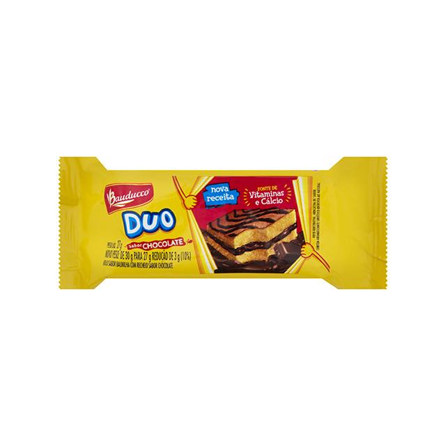 Bolinho Bauducco Duo Chocolate 27g