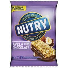 Barra de Cereal Nutry Avelã com Chocolate 22g com 3 und