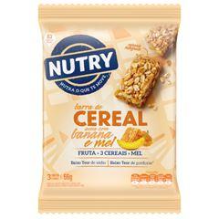 Barra de Cereal Nutry Aveia, Banana e Mel 22g com 3 und