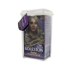 Kit Tintura/Coloração Koleston 1211 Louro Cinza Intenso + Frasqueira