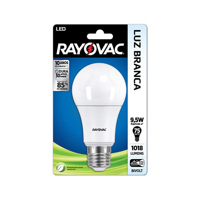 Lampada Rayovac Led 11 watts Bivolt Branca