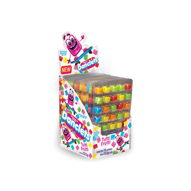 Danclets Tutti Frutti 5x7 10,5g