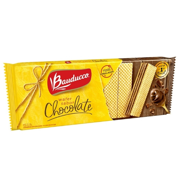 Wafer Bauducco Chocolate 78g