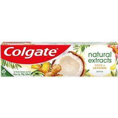 Creme Dental Colgate Extracts Natural Detox Coco e Gengibre 90g