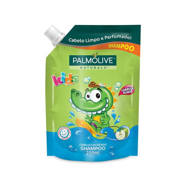 Shampoo Palmolive Naturals Kids Cabelo Cacheado Refil 200ml